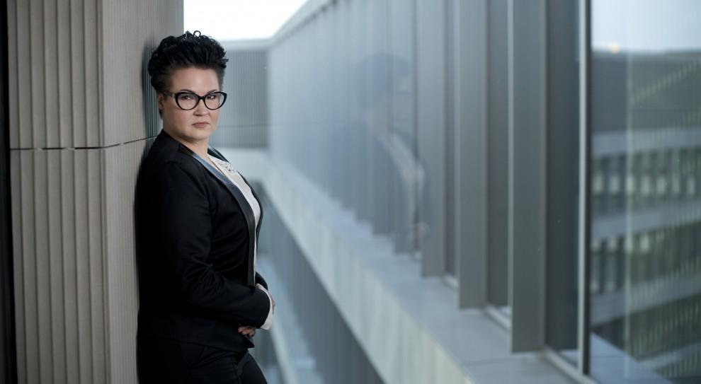 Agnieszka Głowacka rządzi finansami Erbudu. Parytety zbędne