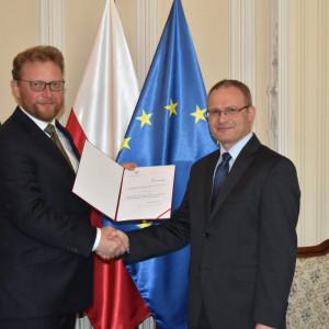 Maciej Miłkowski nowym wiceministrem zdrowia