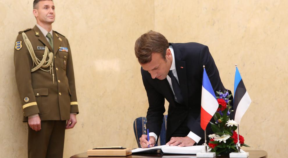 Prezydent Francji Emmanuel Macron w czasie wizyty w Estonii (fot. Annika Haas/EU2017EE Estonian Presidency/flickr.com/CC BY 2.0)