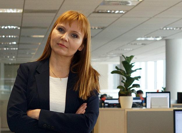 Anna Strutyńska, dyrektor personalny Eniro Polska. (fot.infowire.pl)