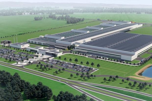 Polska fabryka Mercedesa już zatrudnia, choć jeszcze nie zaczęła pracować