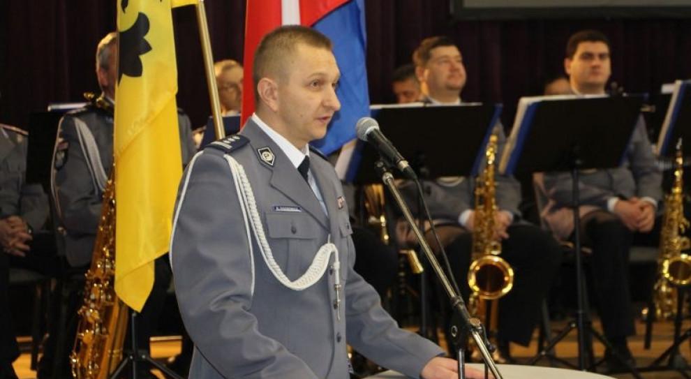 Krzysztof Sidorowicz p.o. komendanta wojewódzkiego policji w Gorzowie Wielkopolskim