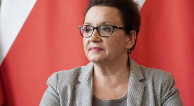 Zalewska: Szanujemy pracę nauczycieli