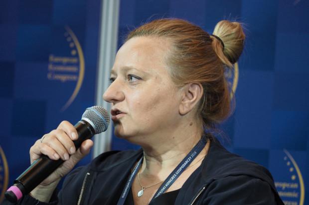 Barbara Chwiesiuk, prezes zarządu spółki Bialcon SA. (fot. PTWP)