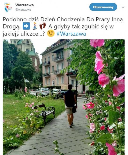 fot.twitter/UM Warszawa