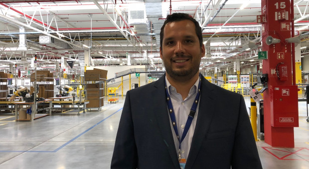 Rodrigo Zapata zaczynał od stażu. Dziś stoi na czele Amazona w Sosnowcu