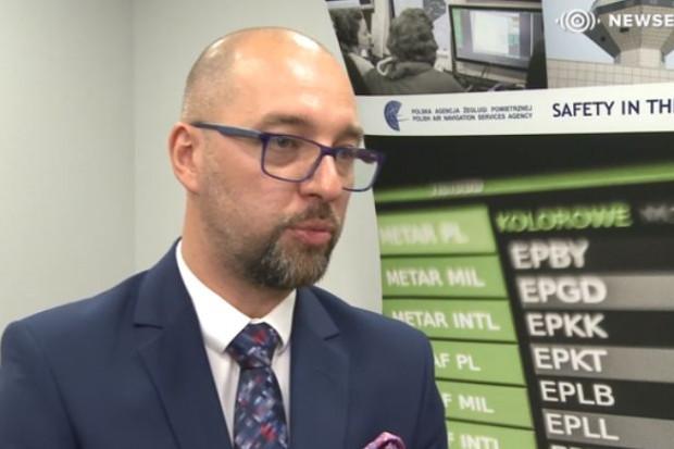 Janusz Janiszewski, nowy prezes Polskiej Agencji Żeglugi Powietrznej ( fot.newseria)