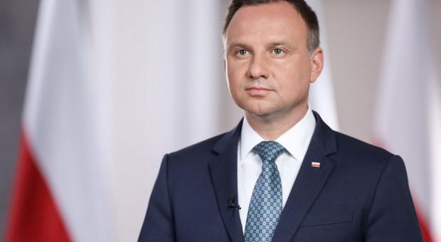 Andrzej Duda odznaczył pracowników Głównego Urzędu Statystycznego