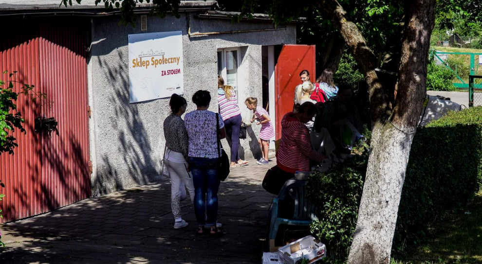 W Gdyni działa sklep społeczny. Wsparcie otrzymują m.in. obcokrajowcy