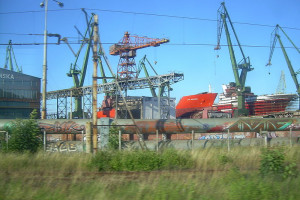 Stoczniowcy dziękują premierowi za odkupienie Stoczni Gdańsk od zagranicznych właścicieli