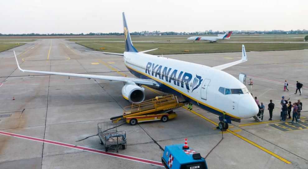 Strajki, odwołane loty i plan redukcji. Ryanair podejmuje decyzje