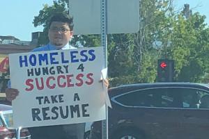 Bezdomny w Dolinie Krzemowej dostał 200 ofert pracy
