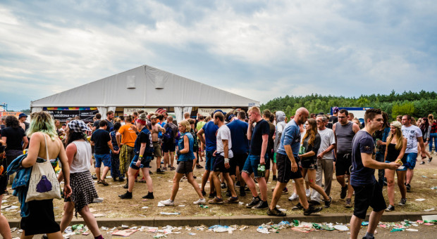Ponad 1,5 tys. policjantów w jednym miejscu. W weekend rusza Pol'and'Rock Festival