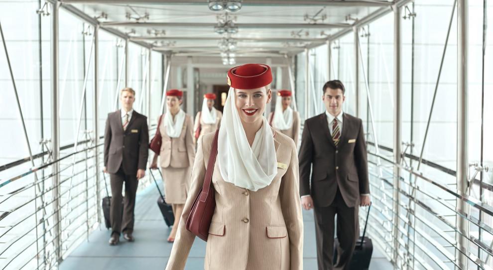 Emirates rekrutuje w Warszawie i Wrocławiu członków obsługi pokładowej