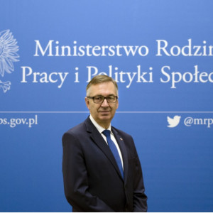 Stanisław Szwed, wiceminister rodziny, pracy i polityki społecznej
