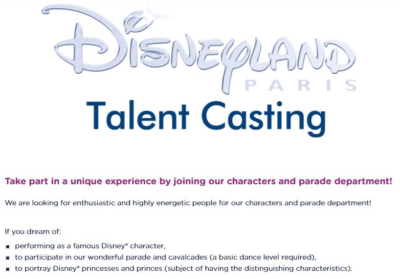 fot. http://careers.disneylandparis.com