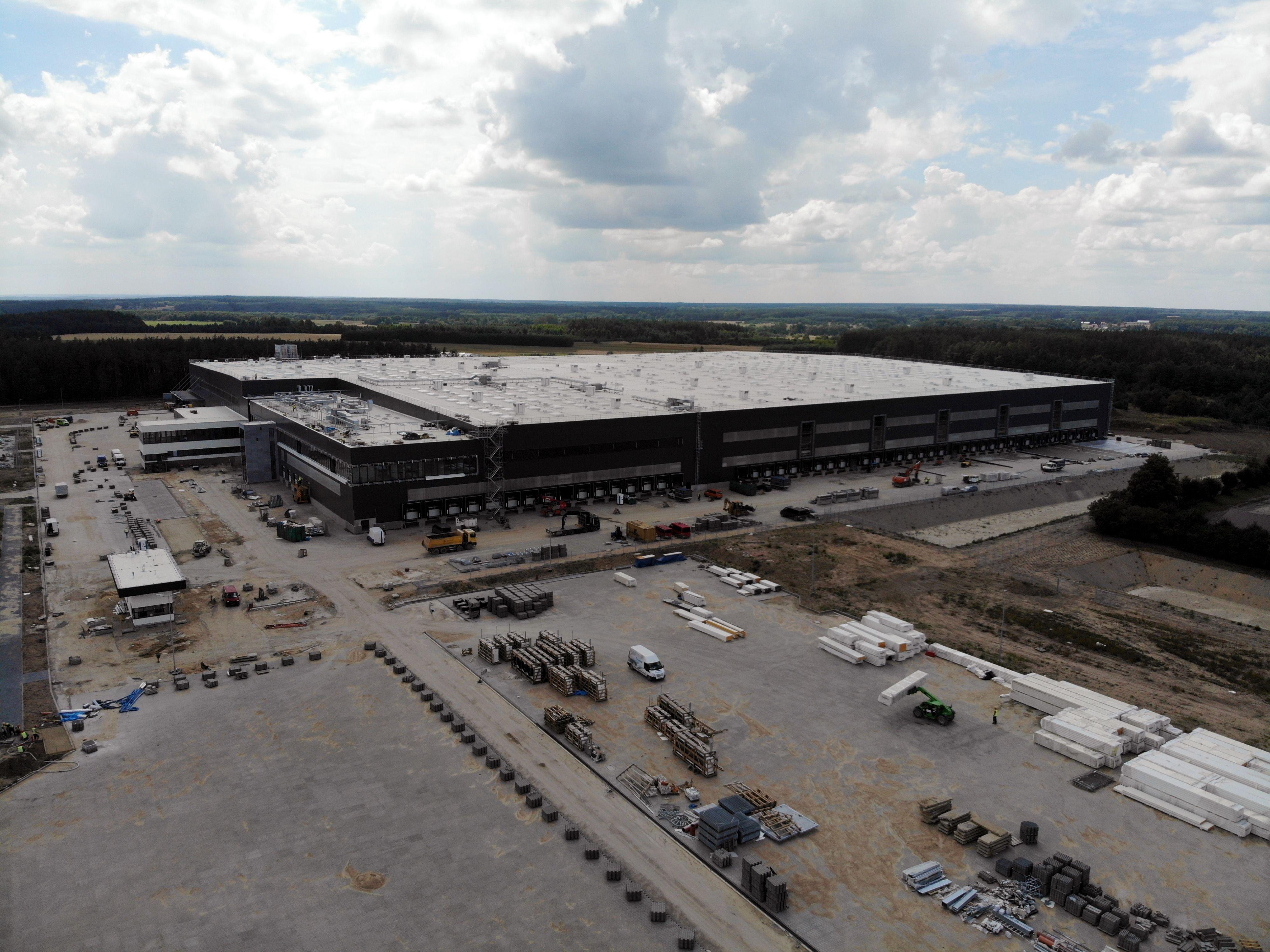 10. centrum dystrybucyjne w Kałuszynie będzie największym w kraju spośród wszystkich obiektów magazynowych Lidla.  (Fot. mat. pras.)