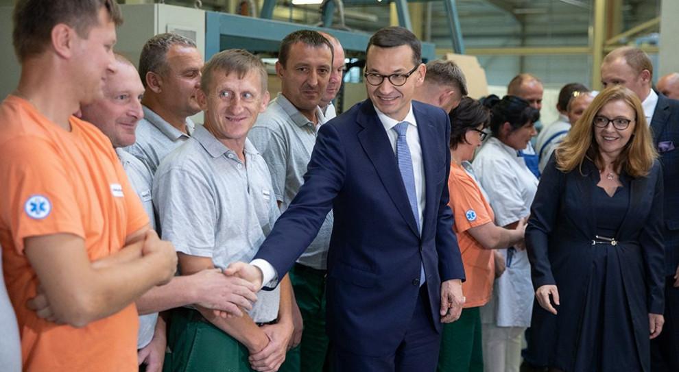 Premier odwiedził zakład produkcyjny Ceramiki Paradyż
