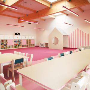 Biuro rodziców i przedszkole dzieci pod jednym dachem