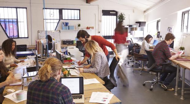 Ani to praca zdalna, ani praca w biurze. Coworking święci triumfy