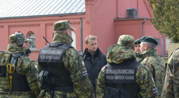 Funkcjonariusze Straży Granicznej pobiegną wzdłuż granic Polski