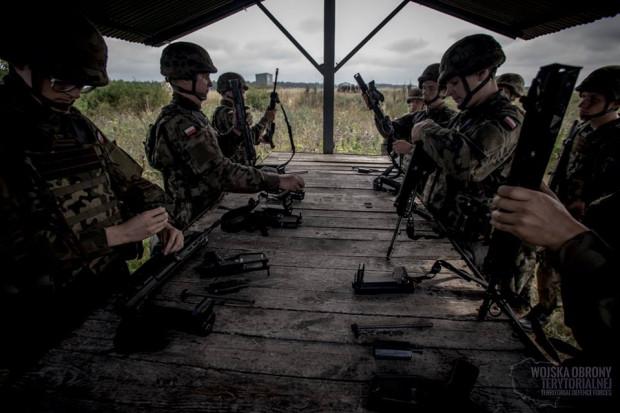 Pierwsi ochotnicy wcieleni do 13. Śląskiej Brygady Obrony Terytorialnej