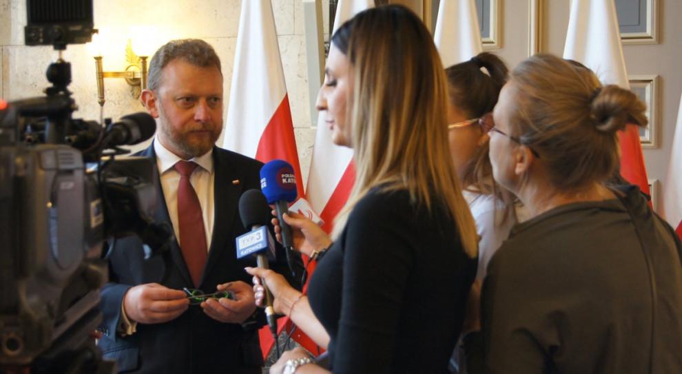 Szumowski przekazał unijne wsparcie dla śląskich szpitali i pielęgniarek