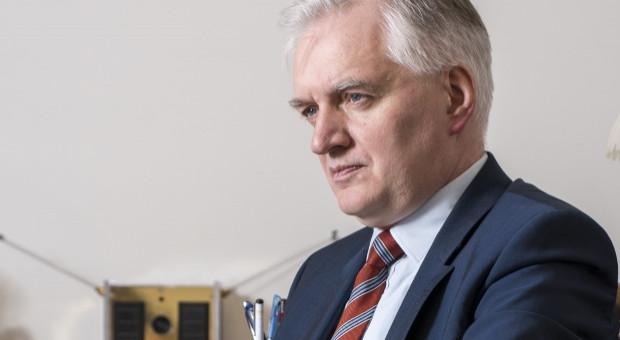 Jarosław Gowin o wpisie wykładowcy UW: Zwrócę się do rektora UW, by rozważył jakieś kroki dyscyplinarne