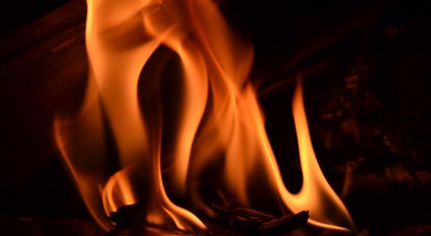 Pożar w zakładzie produkującym materiały wybuchowe w Bieruniu. Pracownicy zdążyli uciec