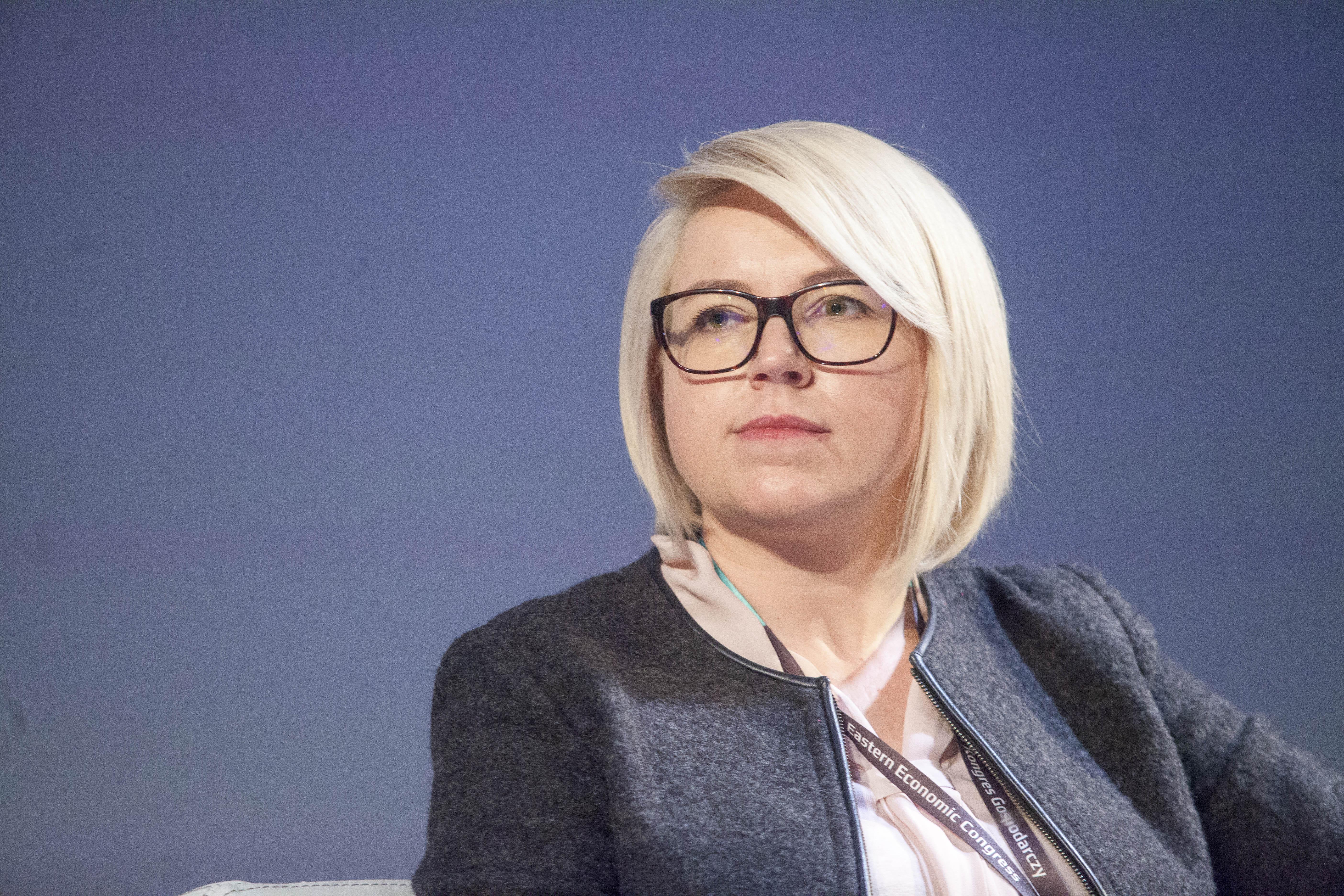 Anna Daszuta-Zalewska, dyrektor Białostockiego Parku Naukowo-Technologicznego (fot. PTWP)