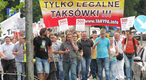 Będzie protest taksówkarzy. Chcą rozmawiać z ministrem sprawiedliwości
