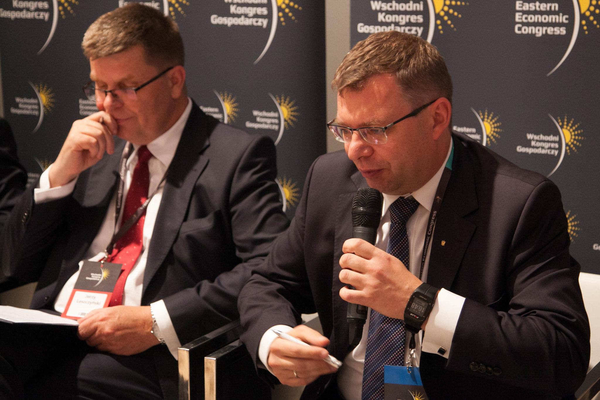 Od lewej: Jerzy Leszczyński i Artur Chojecki (fot. AR/PTWP)