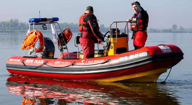 PKN Orlen podarował łódź płockiemu WOPR