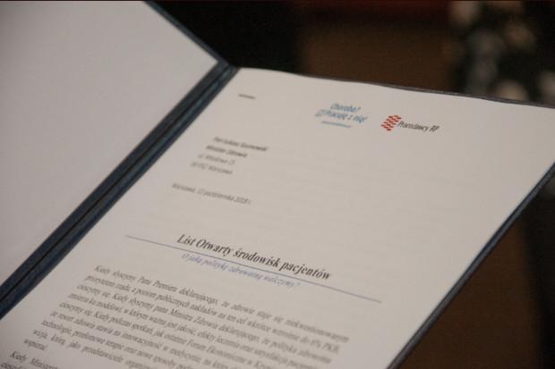 Pracodawcy łączą siły z pacjentami. Piszą list do ministra zdrowia