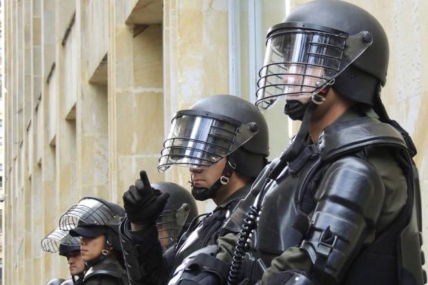 Strajk policjantów w Brukseli