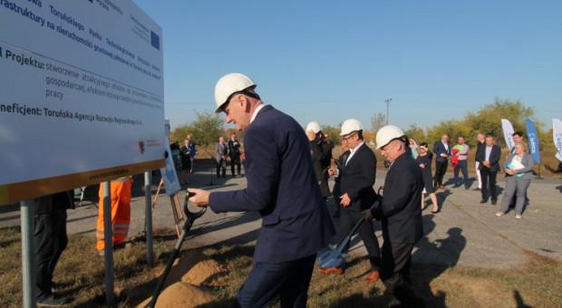 Działki Toruńskiej Agencji Rozwoju Regionalnego czekają na biznes