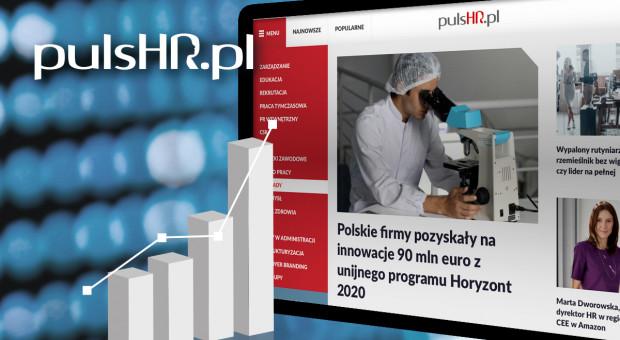 Świetne wyniki oglądalności portalu PulsHR.pl