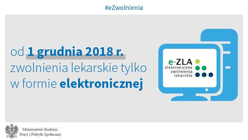Od 1 grudnia zwolnienia lekarskie tylko elektronicznie (fot. twitter.com/MRPiPS_GOV_PL)