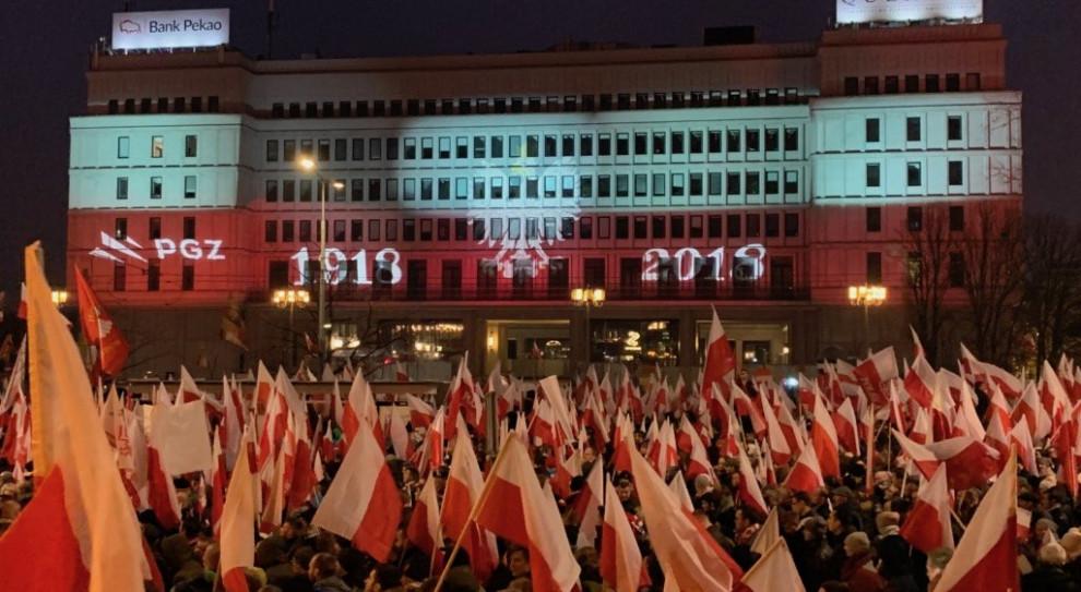 Wiceszef MSWiA: dziękuję funkcjonariuszom za zabezpieczenie Biało-Czerwonego Marszu
