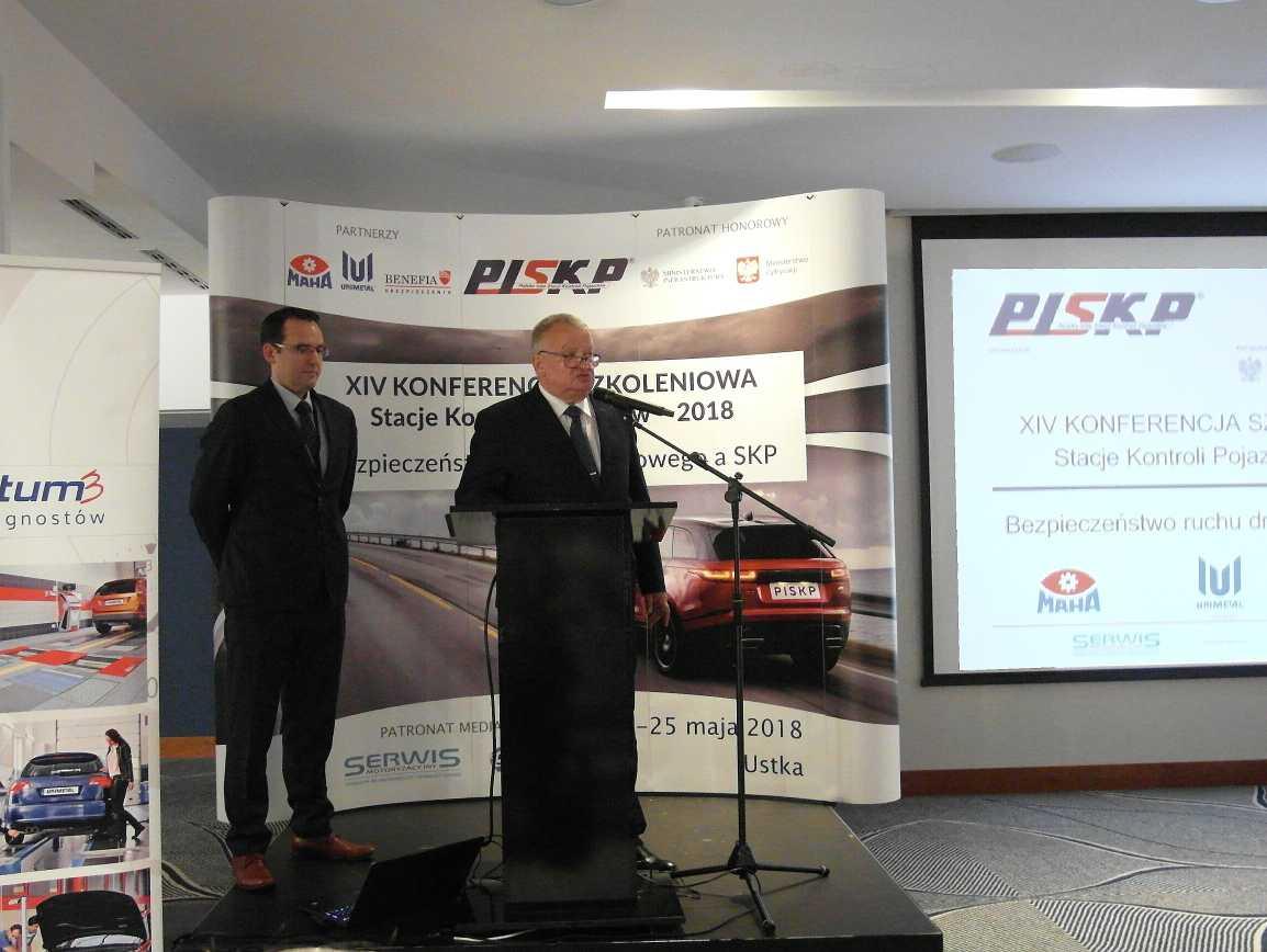 Leszek Turek, prezes PISKP (po prawej) liczy, że losy projektu nie są przesądzone