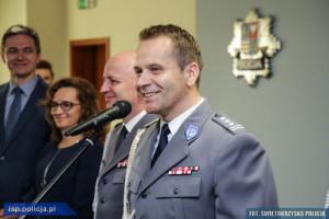 Nadinspektor Dariusz Augustyniak nowym zastępcą Komendanta Głównego Policji
