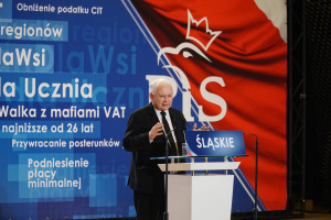 Jarosław Kaczyński: Chcielibyśmy mieć swoich Gatesów