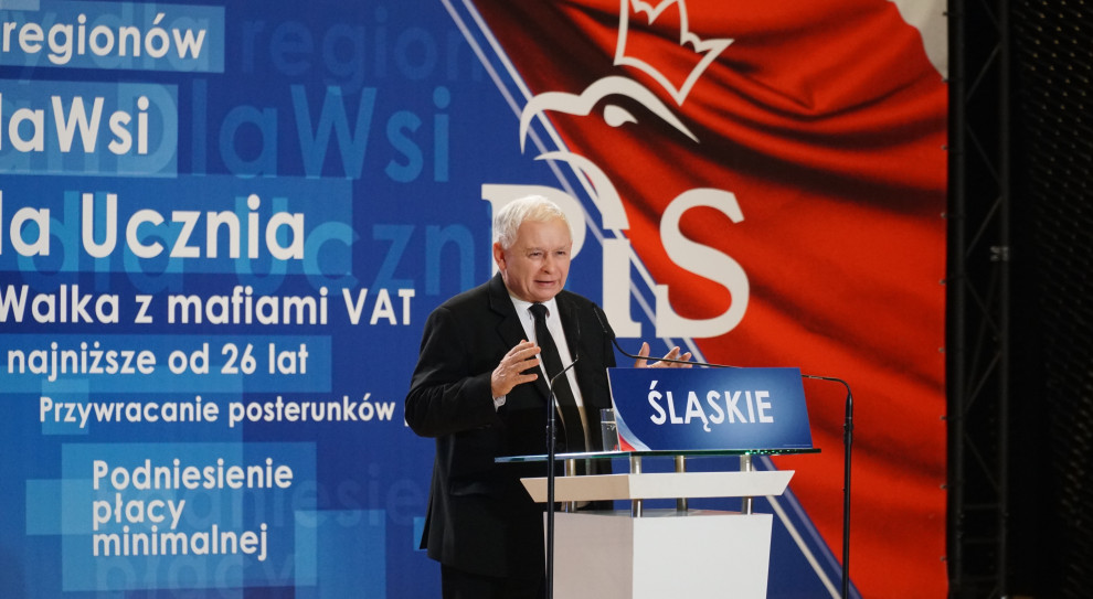 Jarosław Kaczyński: Chcemy tak zmieniać gospodarkę, by młodzi ludzie zostawali w Polsce