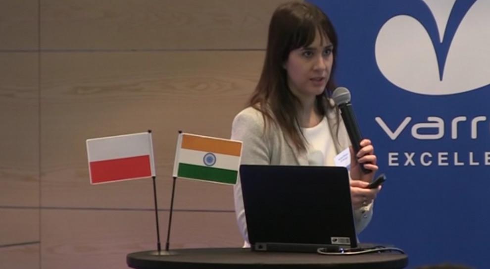 Monika Delegos, HR manager w Varroc Lighting Systems (fot. Newseria)