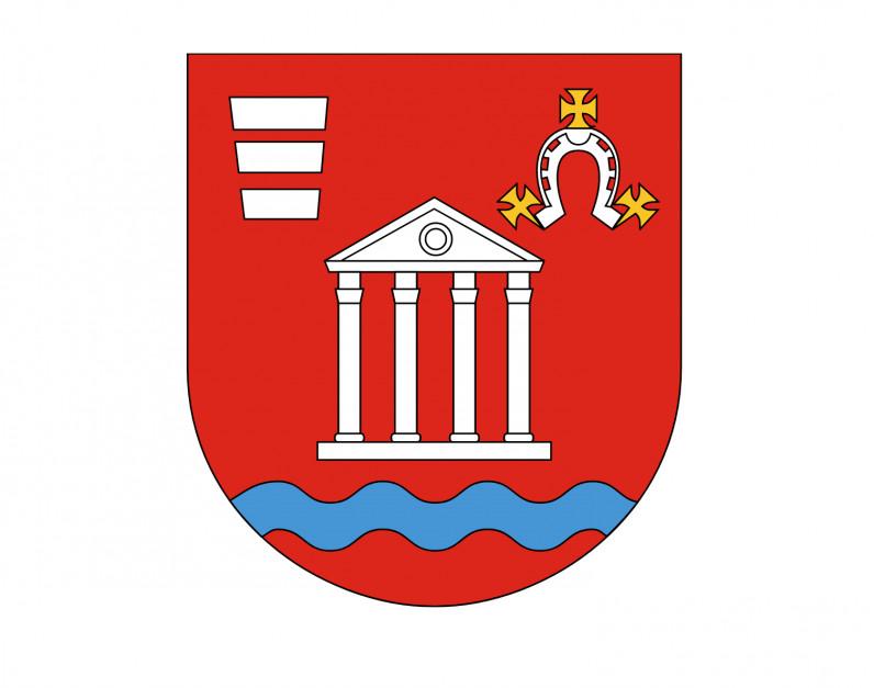 Herb gmin Niemce pod Lublinem, gdzie ulokowano nową fabrykę (źródło: wikimedia.org/domena publiczna)