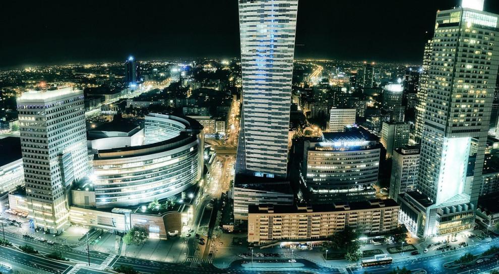 Warszawa biznesowym centrum tej części Europy. W tej samej lidze co Dublin i Londyn