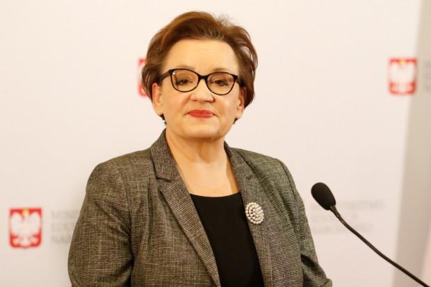 Anna Zalewska chce zająć się szkolnictwem branżowym w europarlamencie