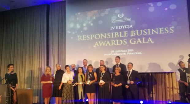 Odpowiedzialny biznes nagrodzony