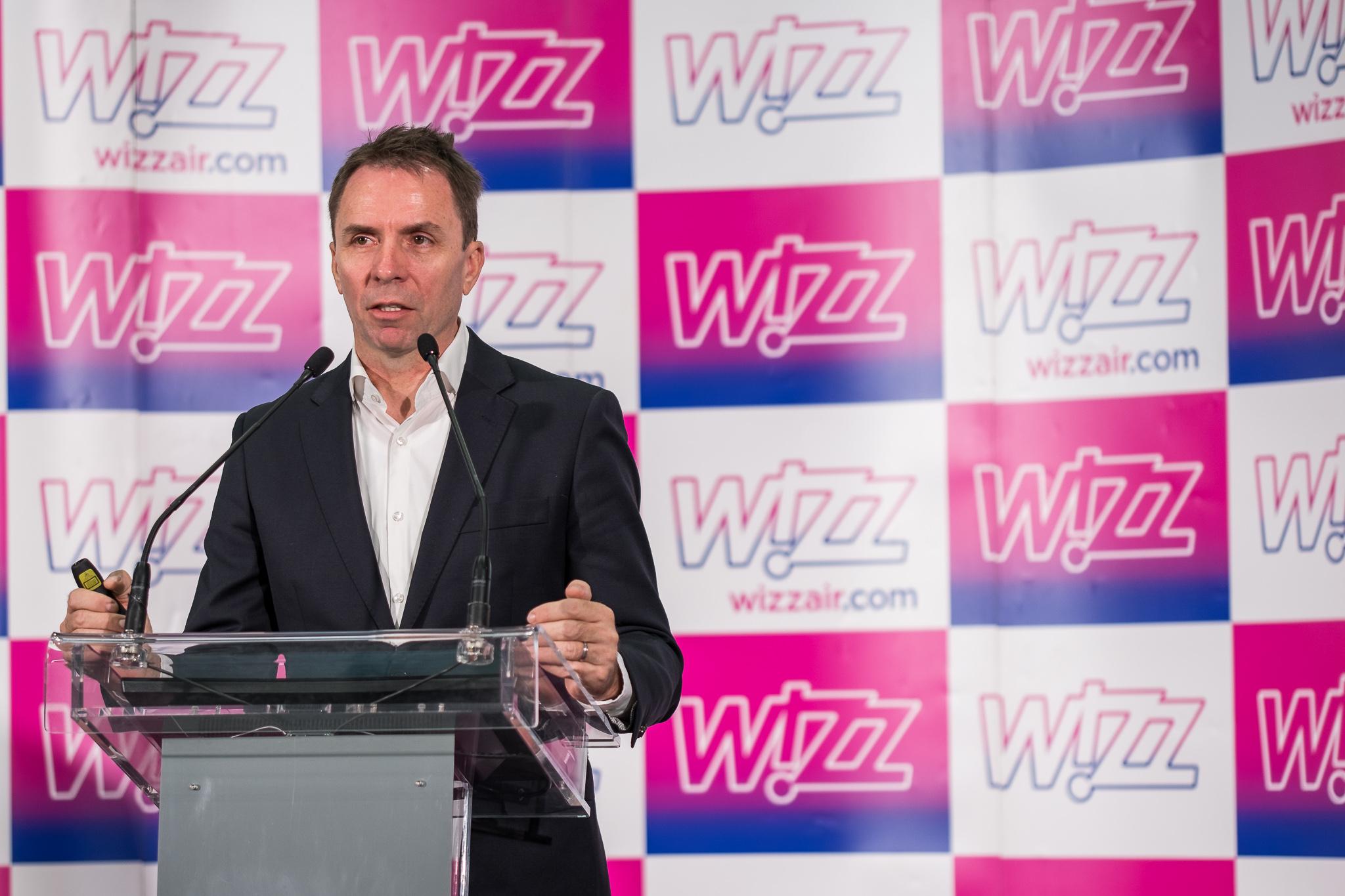 Wizz Air jest gotowy, by stać się linią lotniczą z flotą składającą się z trzystu samolotów i dziesięcioma tysiącami członków załogi, obsługującą sto milionów pasażerowie rocznie - powiedział József Váradi, prezes Wizz Air. Fot. mat. pras.