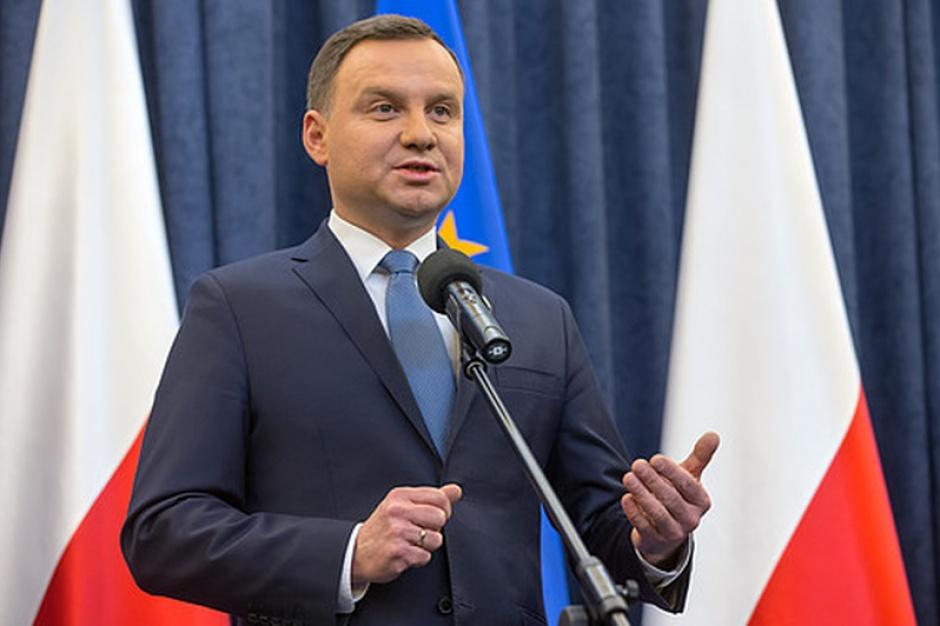 Andrzej Duda. (fot.prezydent.pl/Andrzej Hrechorowicz)